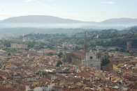 View from the top of the Cupola del Brunelleschi at Il Duomo di Firenze (Florence)