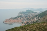 View from the hills above (Dubrovnik)
