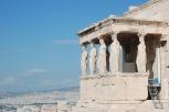 The Erechtheion at the Acropolis (Athens)
