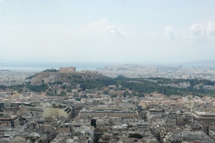 View of the Acropolis from Mount Lycabettus (Athens)