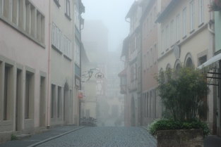 Early morning fog (Rothenburg ob der Tauber)