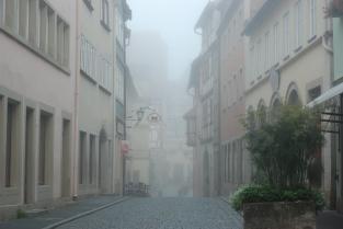 Early morning fog (Rothenburg ob der Tauber)