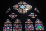 Stained Glass at Notre Dame (Paris)