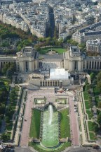 Trocadero from the Eiffel Tower (Paris)